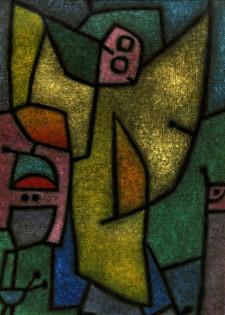 P.Klee, Angelus Militans -  -